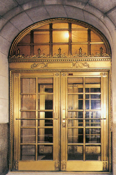Luxury Exterior Doors Copper Doors Brass Doors Bronze